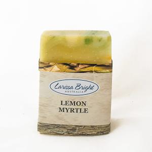 Larissa Bright Lemon Myrtle Soap