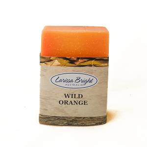 Larissa Bright Wild Orange Soap