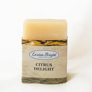 Larissa Bright Citrus Delight Soap