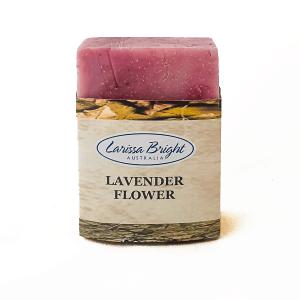 Larissa Bright Lavender Flower Soap